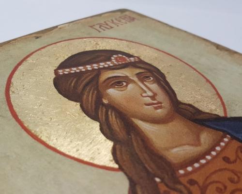 Икона Святой мученицы Гликерии