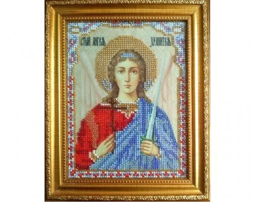 Иконы Ангел Хранитель бисером