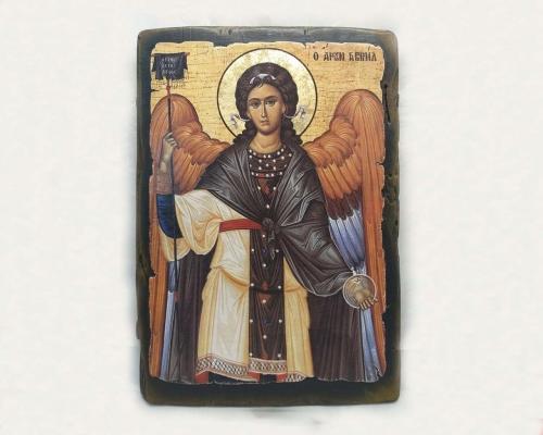 Икона Архангела Гавриила ручной работы –  Магазин Икон | Фотография 1