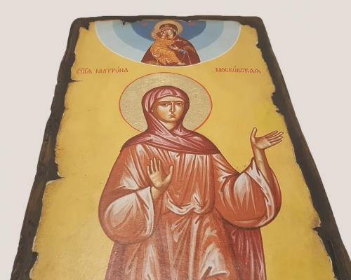 Ростовая икона святой блаженной Матроны Московской