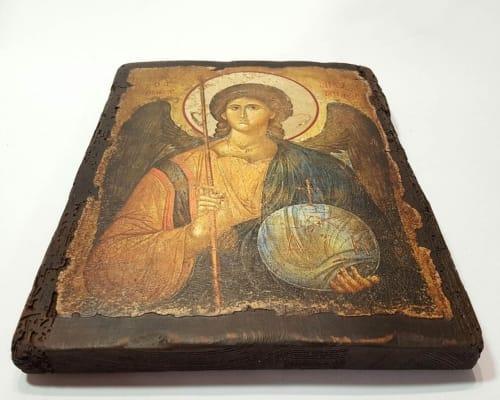 Икона Архангела Михаила ручной работы
