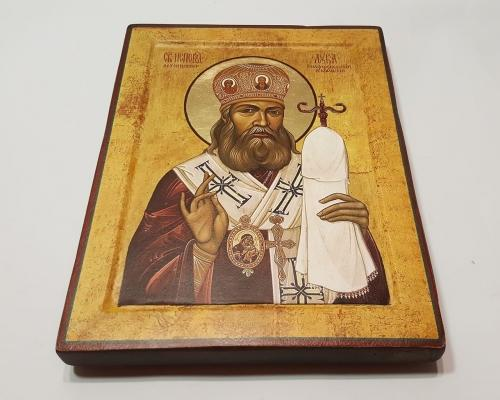 Икона Святой Лука Крымский ручной работы –  Магазин Икон | Фотография 1