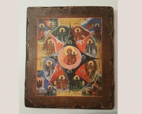 Икона Божьей Матери Неопалимая Купина –  Магазин Икон | Фотография 2