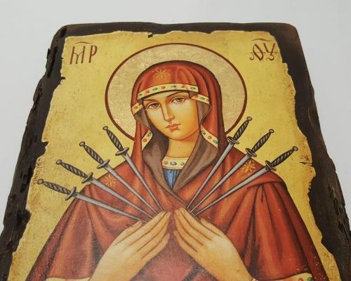 Икона Семистрельной Божьей Матери –  Магазин Икон | Фотография 3
