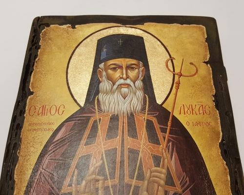 Икона Святой Лука Крымский ручной работы –  Магазин Икон | Фотография 4