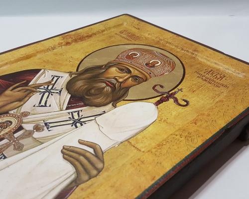 Икона Святой Лука Крымский ручной работы –  Магазин Икон | Фотография 3