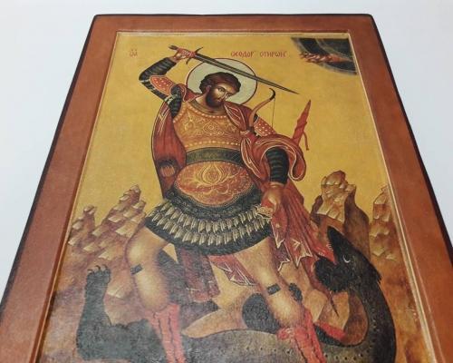 Икона Георгия Победоносца ручной работы –  Магазин Икон | Фотография 2