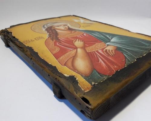 Икона Святой Ирины ручной работы –  Магазин Икон | Фотография 7