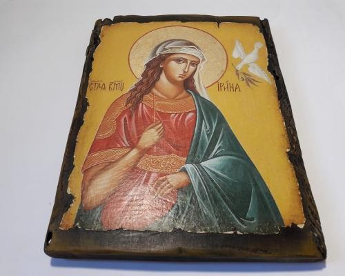 Икона Святой Ирины ручной работы –  Магазин Икон | Фотография 5
