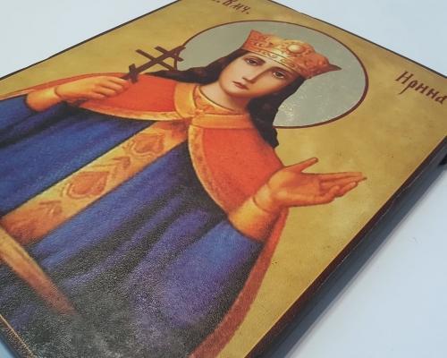 Икона Святой Ирины ручной работы –  Магазин Икон | Фотография 1