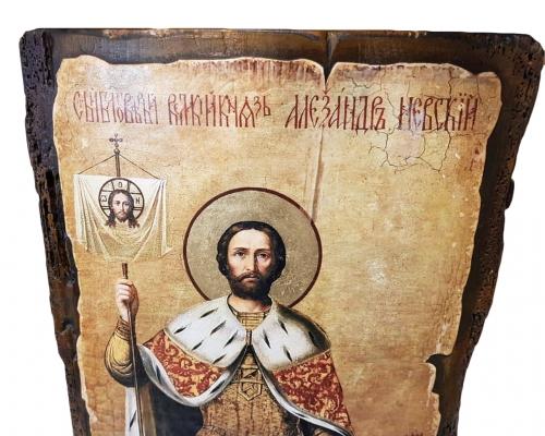 Икона Святого Александра Невского –  Магазин Икон | Фотография 3