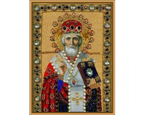 Иконы Святого Николая бисером –  Магазин Икон | Фотография 1