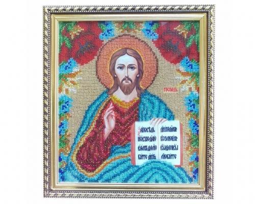 Иконы Спасителя Иисуса Христа бисером –  Магазин Икон | Фотография 1