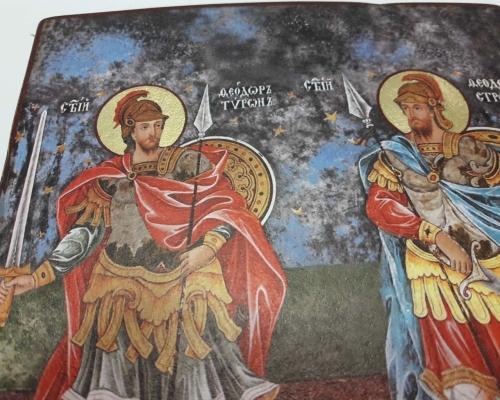 Икона Святых Феодора Стратилата  и Феодора Тирона –  Магазин Икон | Фотография 5