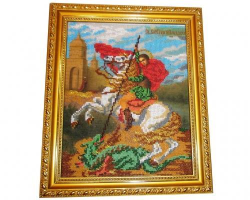 Иконы Георгия Победоносца бисером –  Магазин Икон | Фотография 2
