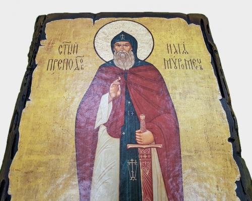 Икона Святого Преподобного Ильи Муромца