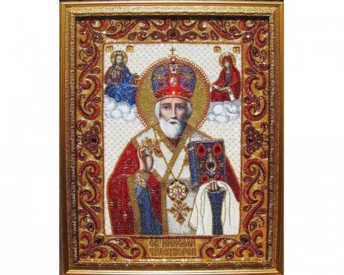 Иконы Святого Николая бисером –  Магазин Икон | Фотография 2