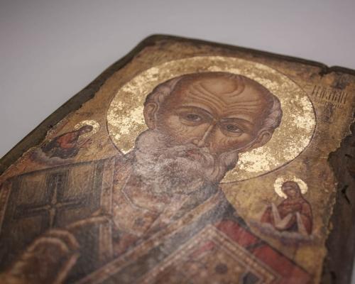 Иконы для Крещения ручной работы