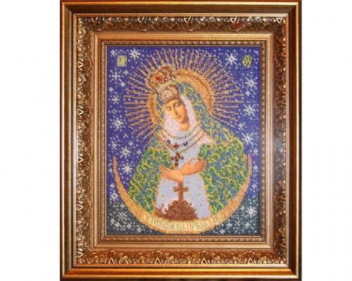Иконы Остробрамской Богоматери бисером –  Магазин Икон | Фотография 2