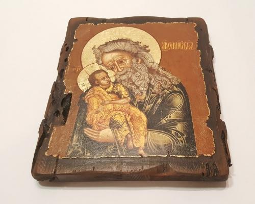Икона Святой Симеон Богоприимец