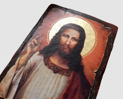 Икона Спасителя (Туринская Плащаница) –  Магазин Икон | Фотография 1