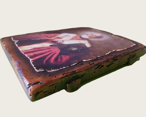 Икона Святого Николая ручной работы –  Магазин Икон | Фотография 3