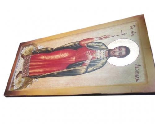 Икона Святого мученика Леонида –  Магазин Икон | Фотография 2