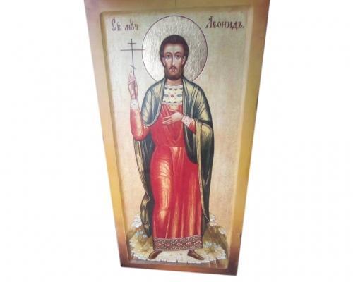 Икона Святого мученика Леонида –  Магазин Икон | Фотография 3