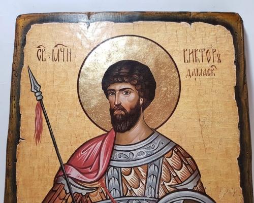 Икона Святого Виктора –  Магазин Икон | Фотография 3