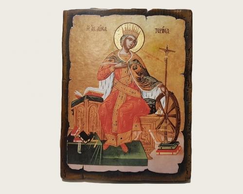 Икона Святой великомученицы Екатерины –  Магазин Икон | Фотография 2