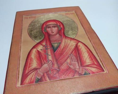 Икона Святой мученицы Дарьи