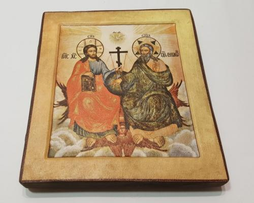Икона Святой Троицы ручной работы –  Магазин Икон | Фотография 1