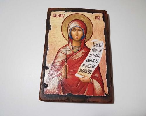 Икона Святой мученицы Татьяны –  Магазин Икон | Фотография 1