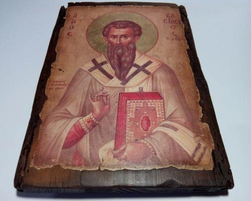 Икона Святого Василия