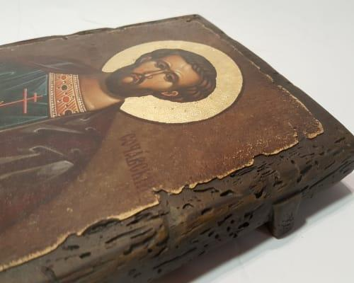 Икона Иоанна Сочавского ручной работы