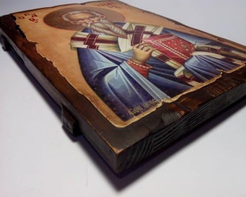 Ікона Іпатія Ганргського ручної роботи