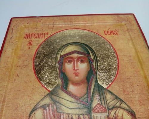 Икона Святой Ангелины
