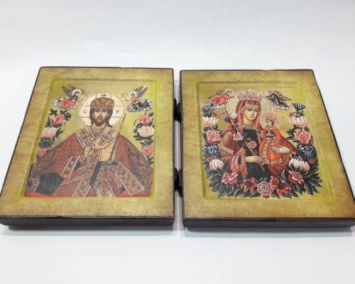 Венчальная пара икон Неувядаемый Цвет