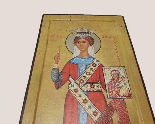 Мерная икона Царица Александра –  Магазин Икон | Фотография 1