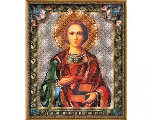 Иконы Пантелеймона Целителя бисером –  Магазин Икон | Фотография 2