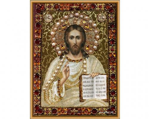 Иконы Спасителя Иисуса Христа бисером –  Магазин Икон | Фотография 3