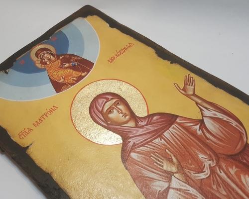 Ростовая икона святой блаженной Матроны Московской –  Магазин Икон | Фотография 8