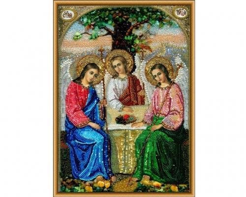 Иконы Святая Троица бисером –  Магазин Икон | Фотография 3