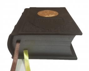 Апостол в кожанном переплете с метал. вставкой –  Магазин Икон | Фотография 1