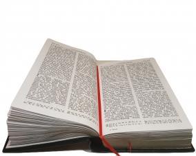 Библия в кожанном переплете с метал. вставкой –  Магазин Икон | Фотография 7