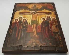 Икона Распятие Иисуса Христа