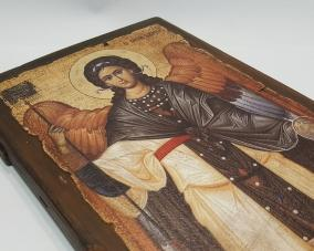Икона Архангела Гавриила ручной работы