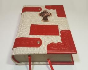 Библия в льняном переплете и отделкой из кожи –  Магазин Икон | Фотография 6