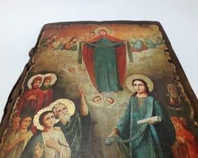 Ікона Покров Пресвятої Богородиці