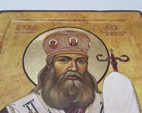 Икона Святой Лука Крымский ручной работы –  Магазин Икон | Фотография 2